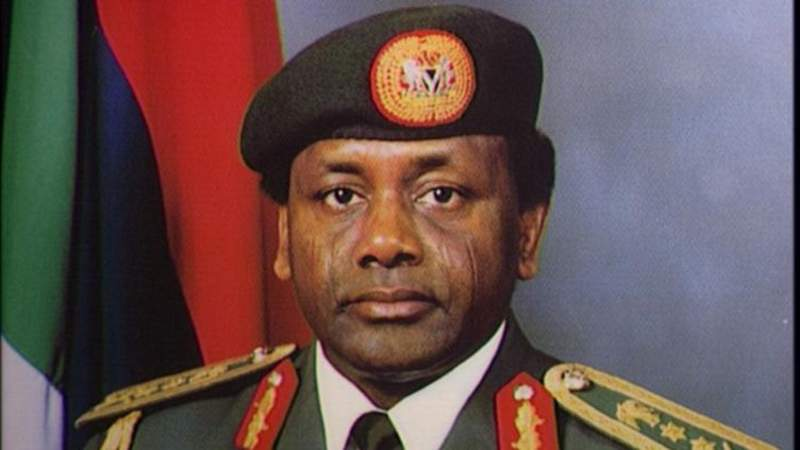 Sani Abacha looted money