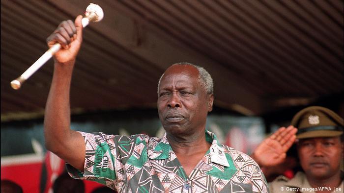 Kenya former president arap moi