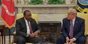 Kenyatta meets Trump