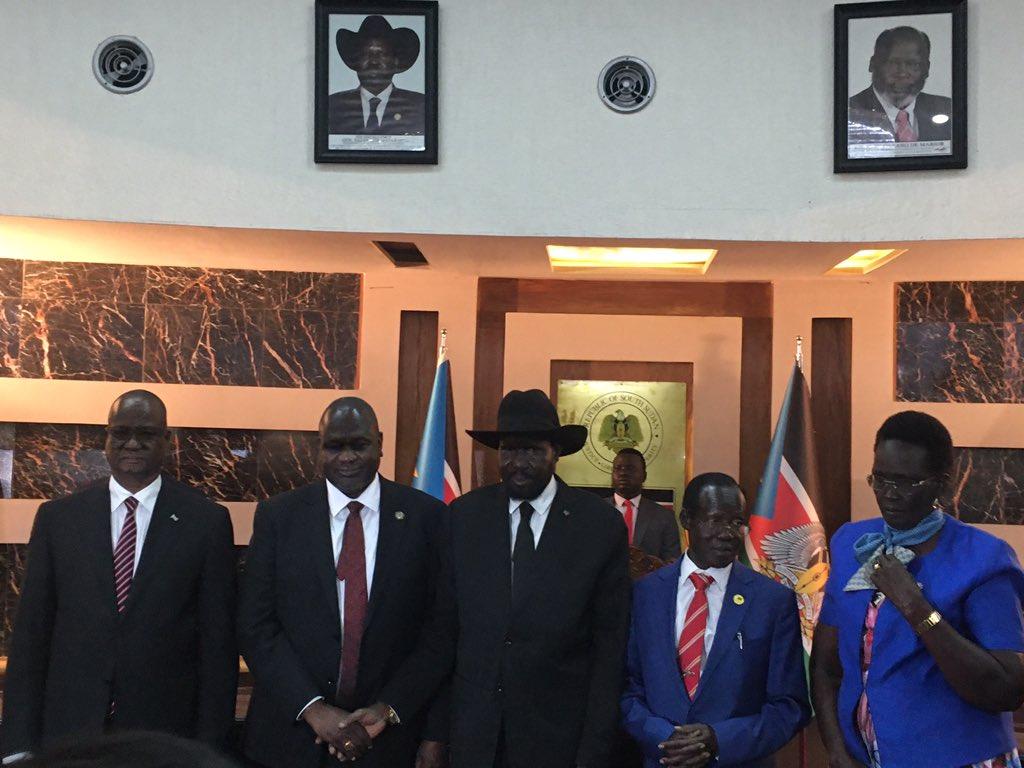 South Sudan unity government
