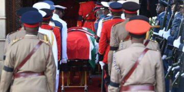 Funeral for Arap Moi