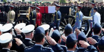 Hosni Mubarak buried