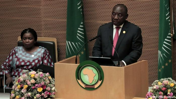 South Africa chairs AU