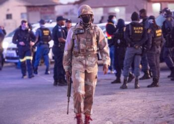 South Africa lockdown brutality