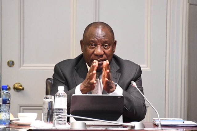 Ramaphosa from South Africa