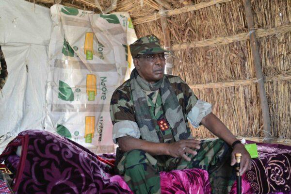 President of Chad Idriss Deby