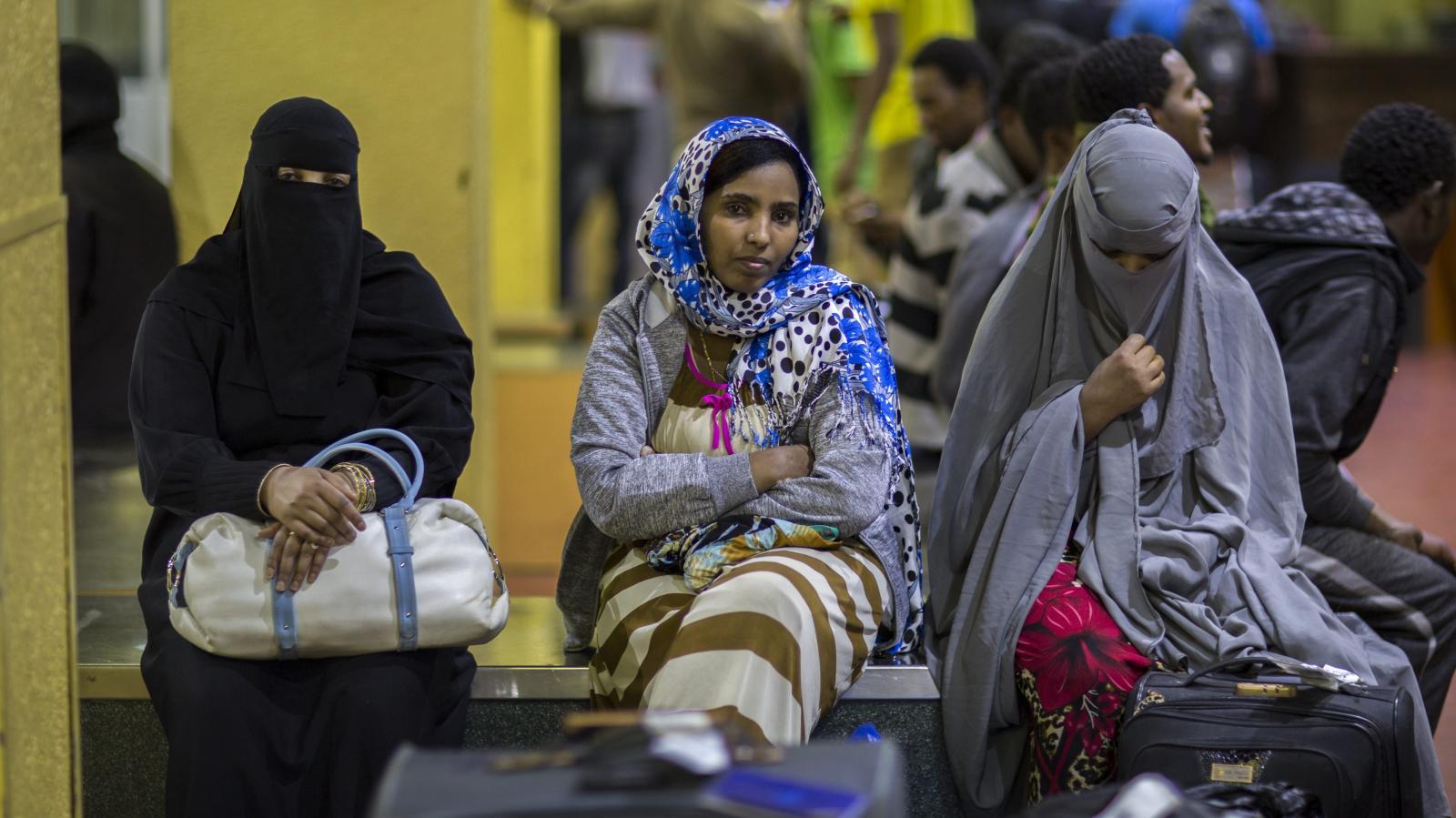 Ethiopian migrant deported