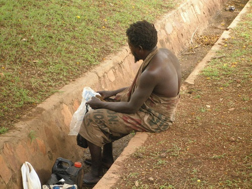 Mad people in Ghana