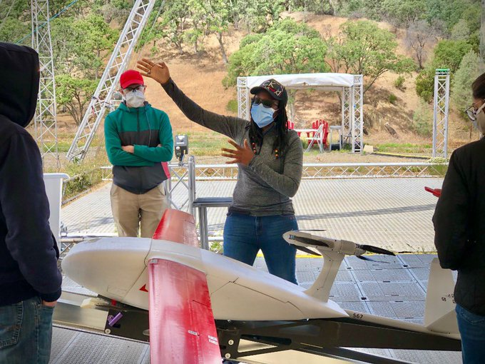 Rwanda drone engineers