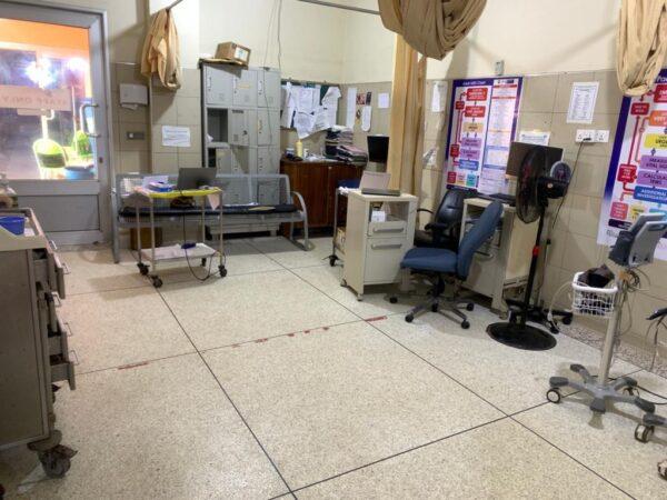 Ghana nurses on strike