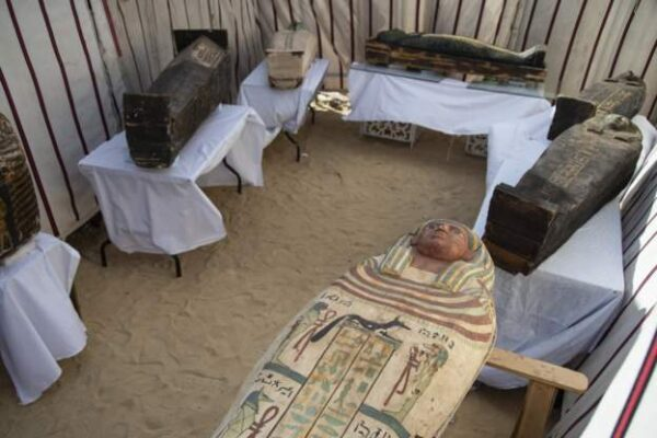 Coffins discovered in Egypt