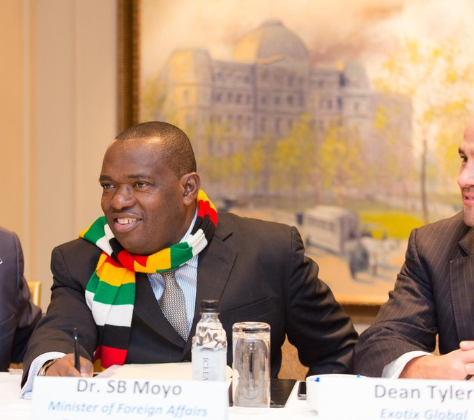 Zimbabwe foreign affairs minister Moyo dies