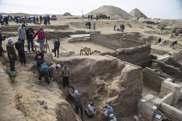 Coffins and Temples in Egypt