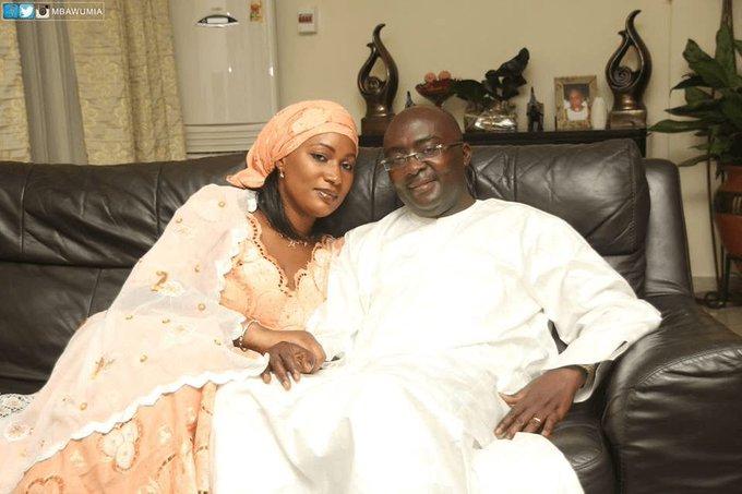 Ghana's vice president Bawumia and wife Samira