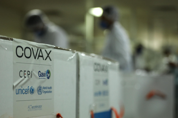 Covax vaccine roll out in Africa