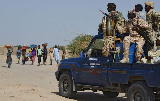 Nigerians flee to Niger