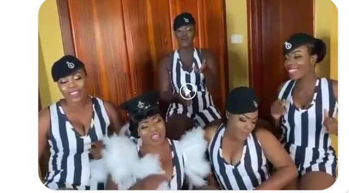 sexy Ghanaian police officers punished