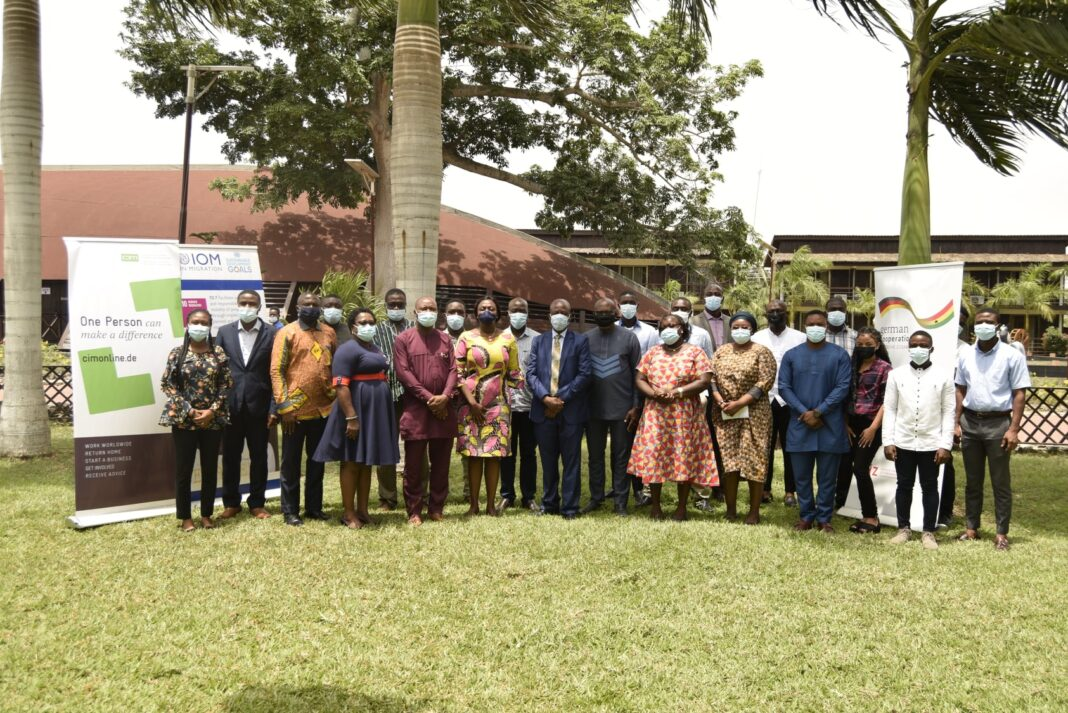 GIZ Ghana workshop for migration stakeholders