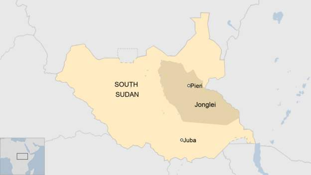 Plane crash in South Sudan