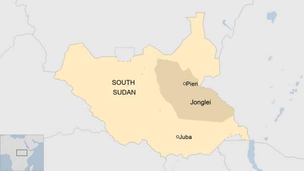 Plane crash in South Sudan