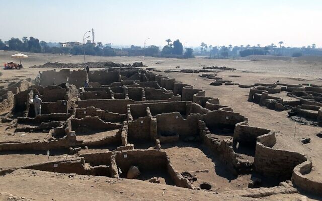 Lost egyptian city discovered