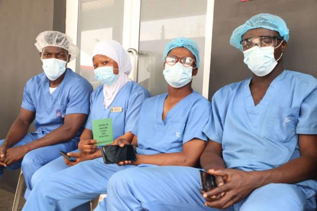 Nigeria doctors on strike
