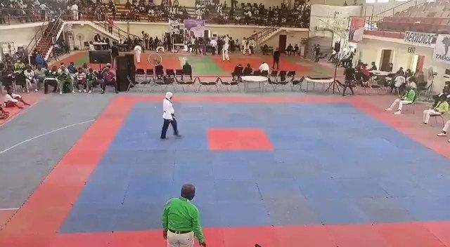 Pregnant woman wins Taekwondo