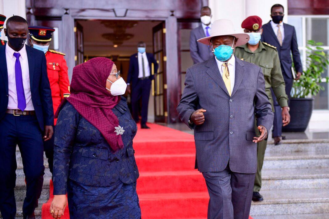 President Hassan in Uganda