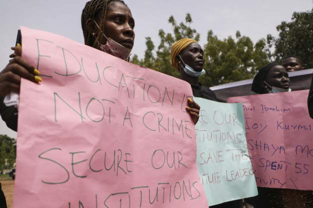 Kidnapped students in Nigeria