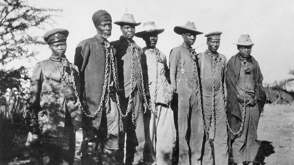 Namibia genocide