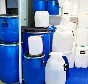 Water containers for storage