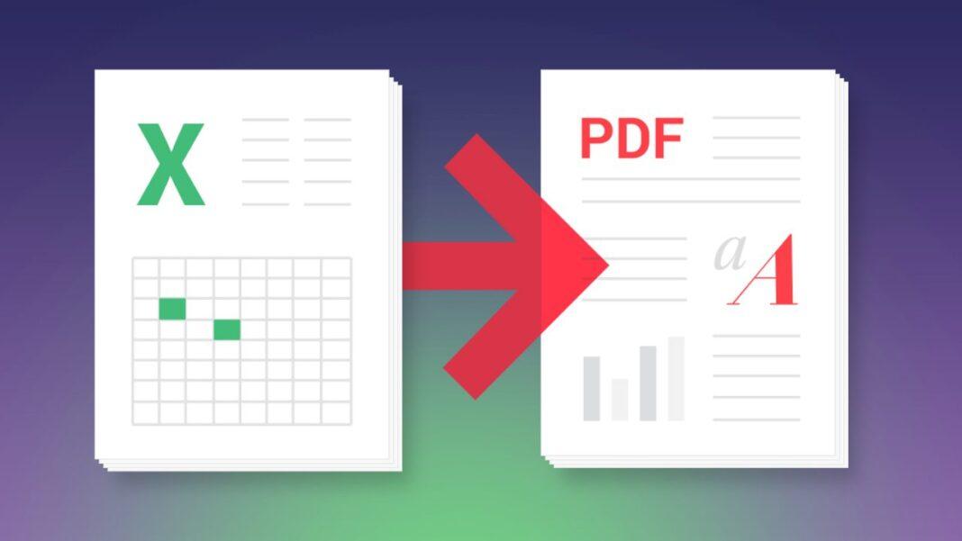 XLC to PDF