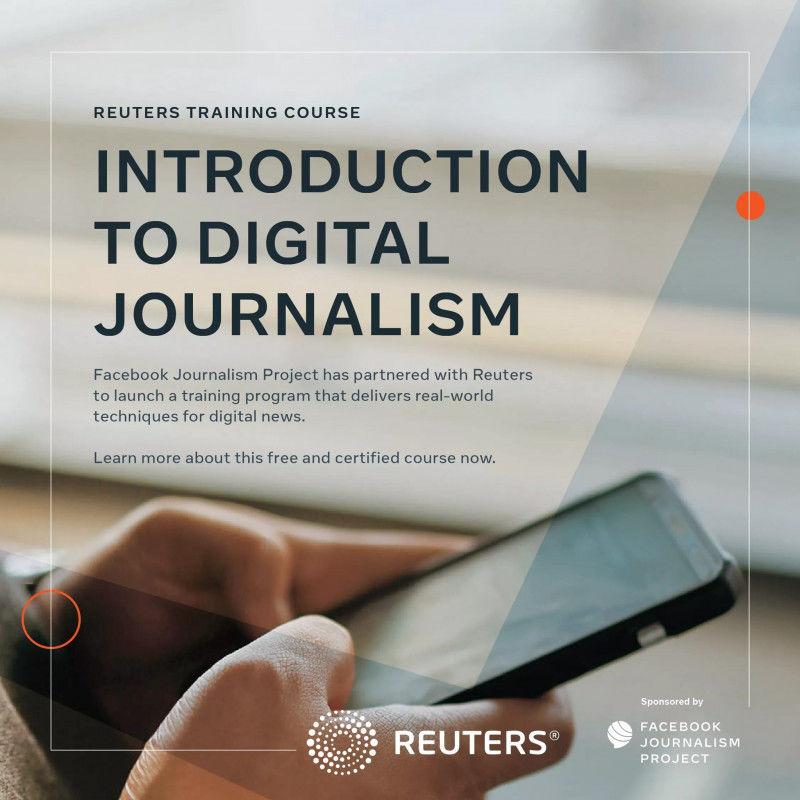 Reuters digital journalism training