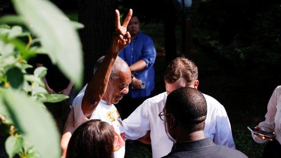 Bill Cosby freed