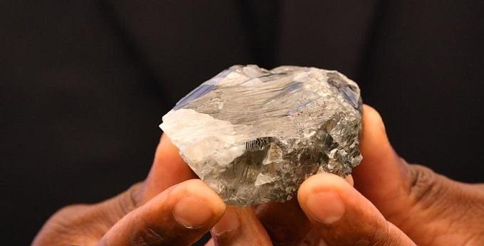 Diamond discovery in Botswana