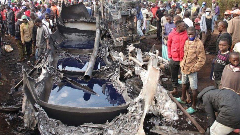 Kenya fuel tanker explosion