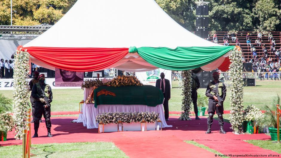 Kenneth Kaunda buried
