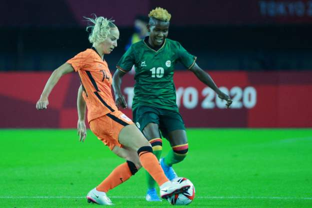 Zambia copper queen at Olympics