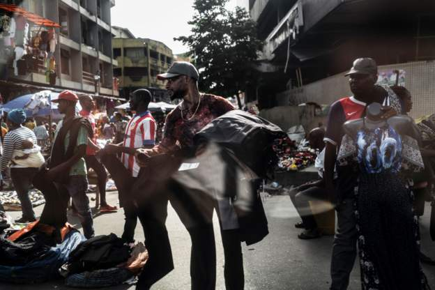 Hawkers and Beggars in Lagos