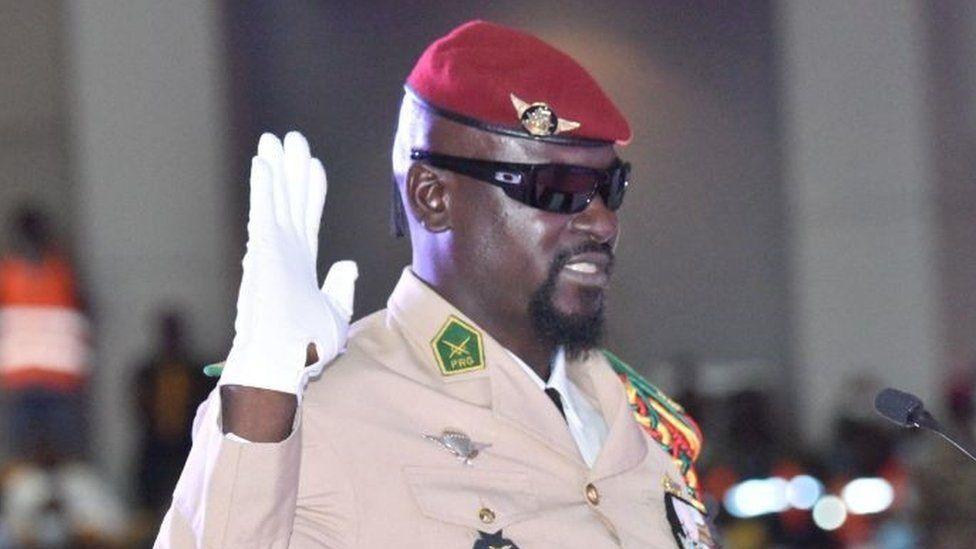 Guinea interim President
